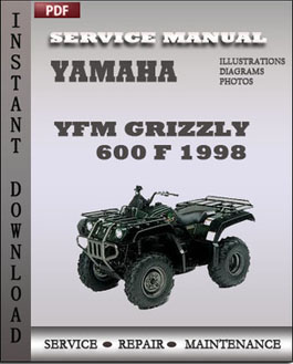 Yamaha YFM Grizzly 600 F 1998 manual