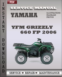 Yamaha YFM Grizzly 660 FP 2006 manual