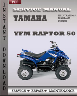 Yamaha YFM Raptor 50 manual