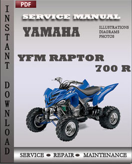 Yamaha YFM Raptor 700 R manual