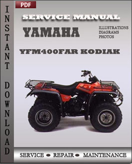 Yamaha YFM400FAR Kodiak manual