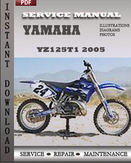 Yamaha YZ125T1 2005 manual