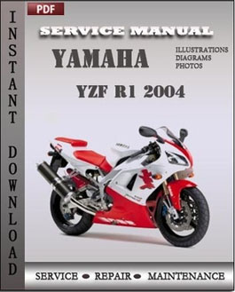 Yamaha YZF R1 2004 manual