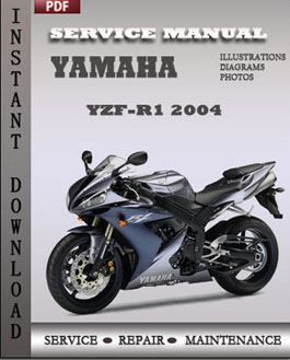 Yamaha YZF-R1 2004 manual