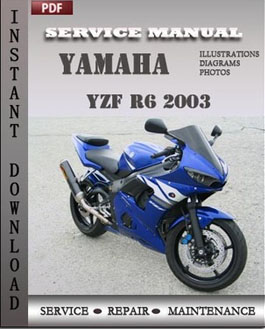 Yamaha YZF R6 2003 manual