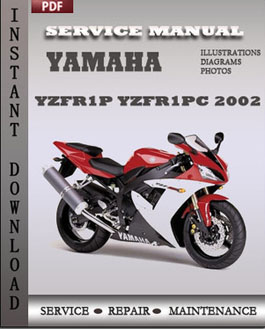Yamaha YZFR1P YZFR1PC 2002 manual