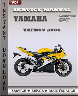Yamaha YZFR6V 2006 manual