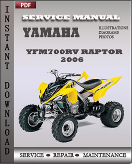 Yamaha Yfm700rv Raptor 2006 manual