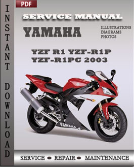 Yamaha Yzf R1 Yzf-r1p Yzf-r1pc 2003 manual