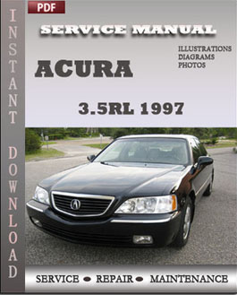 Acura 3.5RL 1997 manual