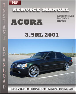 Acura 3.5RL 2001 manual