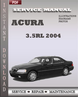 Acura 3.5RL 2004 manual