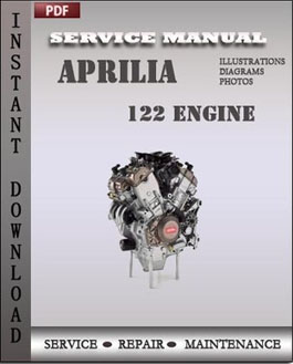 Aprilia 122 Engine manual