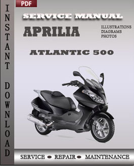 Aprilia Atlantic 500 manual
