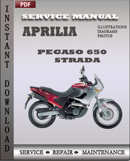 Aprilia Pegaso 650 Strada Trail manual