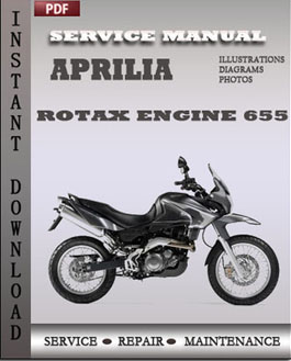 Aprilia Rotax Engine 655 manual