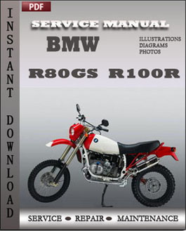 BMW R80GS R100R manual