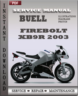 Buell Firebolt XB9R 200 manual