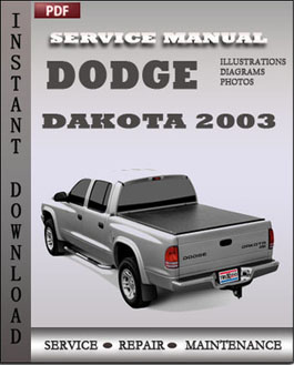 Dodge Dakota 2003 manual