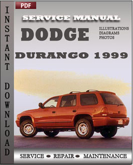 Dodge Durango 1999 manual