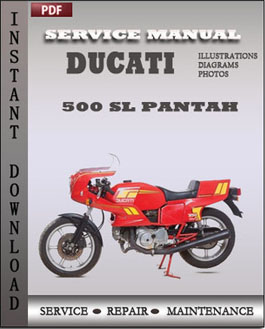 Ducati 500 SL Pantah manual