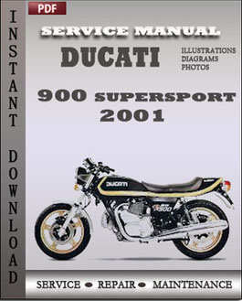 Ducati 900 Supersport 2001 manual