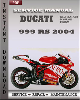 Ducati 999 RS 2004 manual