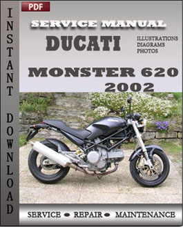 Ducati Monster 620 2002 manual