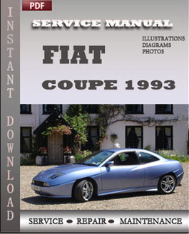 Fiat Coupe 1993 manual