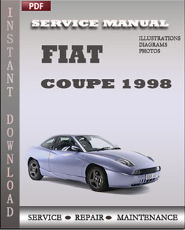 Fiat Coupe 1998 manual