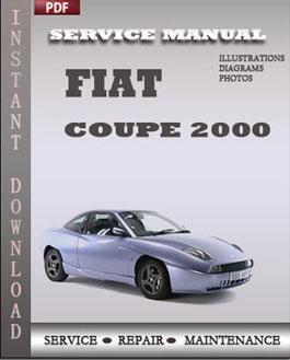 Fiat Coupe 2000 manual