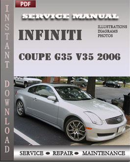 Infiniti Coupe G35 V35 2006 manual
