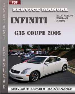 Infiniti G35 Coupe 2005 manual