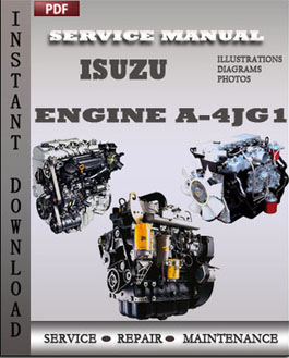 Isuzu Diesel Engine A-4JG1 manual