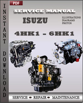 Isuzu Engine 4HK1 - 6HK1 manual