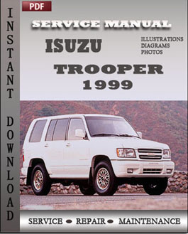 Isuzu Trooper 1999 manual