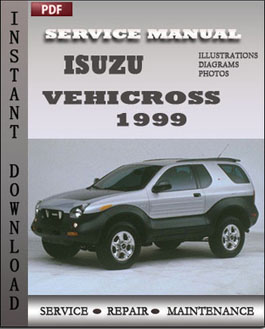 Isuzu Vehicross 1999 manual