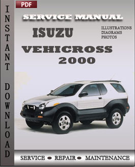 Isuzu Vehicross 2000 manual