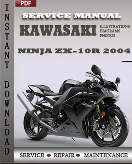 Kawasaki Ninja ZX-10R 2004 manual