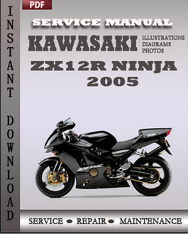 Kawasaki ZX12R Ninja 2005 manual