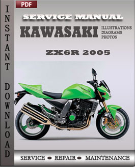 Kawasaki ZX6R 2005 manual
