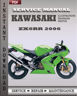 Kawasaki ZX6RR 2006 manual