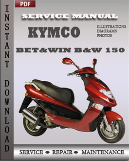 Kymco Bet&win B&W 150 manual