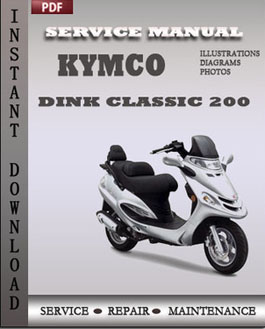 Kymco Dink Classic 200 manual