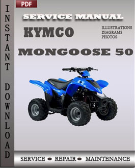 Kymco Mongoose 50 manual