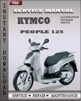 Kymco People 125 manual