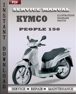 Kymco People 150 manual