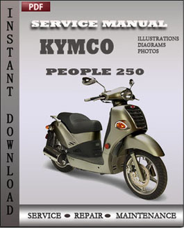 Kymco People 250 manual