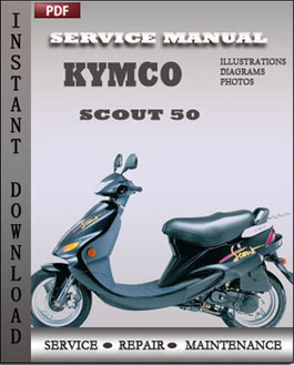 Kymco Scout 50 manual