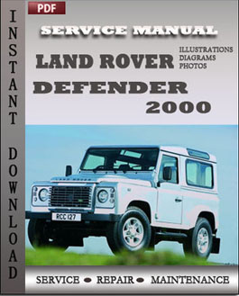 Land Rover Defender 2000 manual